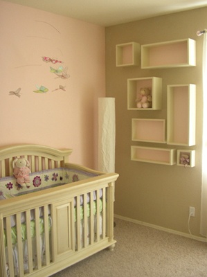 Emma Mary baby room on modern entrance design