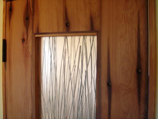 Jackson Residence Bathroom Door 2005 Reclaimed Doug Fir Steel \\\\u0026 3-form Collaboration With Aric Mei Jackson WY & Jackson Doors \u0026 Full Size Of Door:doors Excellent Pella Storm ... Pezcame.Com
